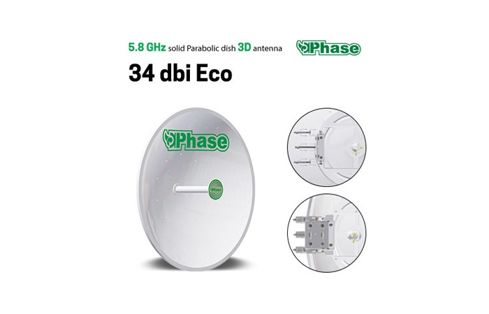Dish phase 34dbi eco
