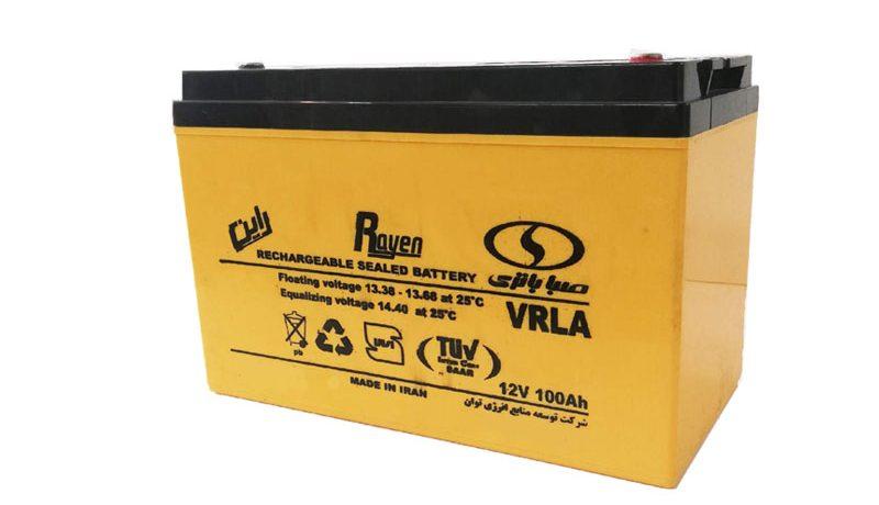 UPS صبا باتری 100 آمپر ساعت (12SB100)